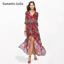019acf6d9e8a0 Buy floral long dress romantic and get free shipping on AliExpress.com