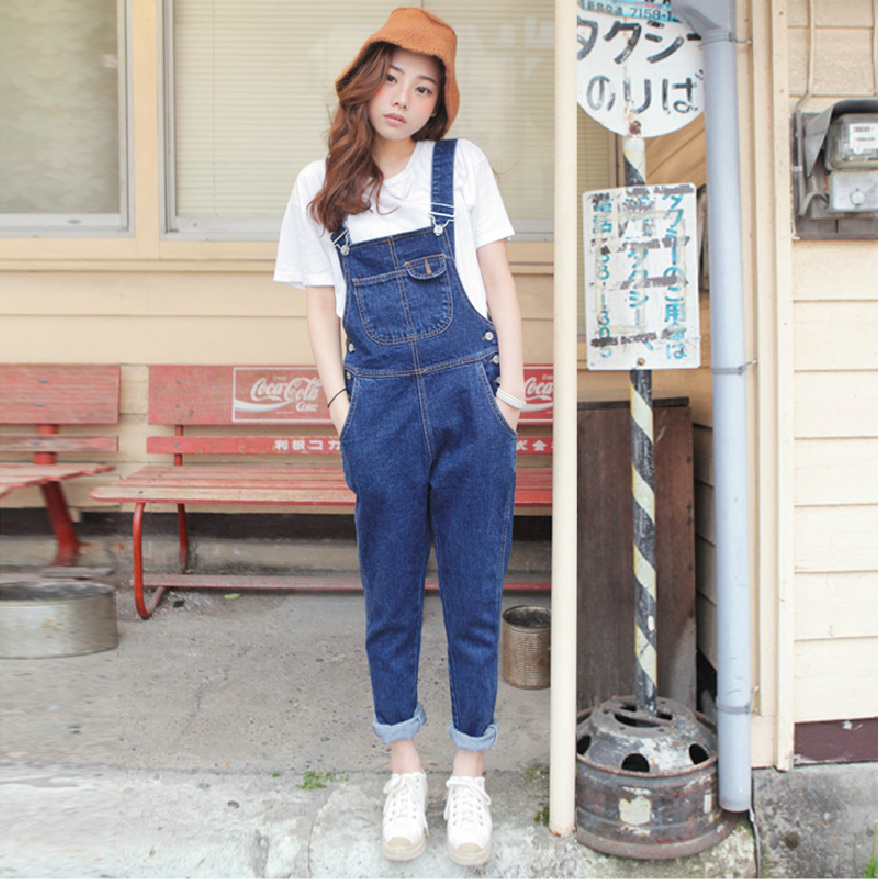 playsuits 2018 korean style jumpsuit pants denim womens jumpsuit harajuku  jumpsuit summer overalls denim overalls women,in Jumpsuits from Women\u0027s  Clothing