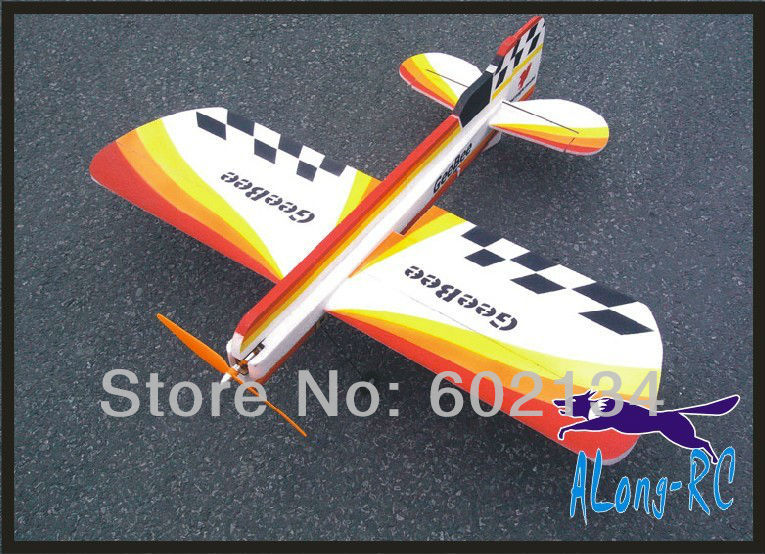 EPP PLANE/ RC 3D airplane/RC MODEL HOBBY TOYS/-wingspan 1000mm GeeBee 3D plane(PNP SET--OTHER ADD RADIO BATTERY TO FLY!) epo plane rc airplane rc model hobby toy hot sell spitfire rc plane pnp version add radio battery chager to fly