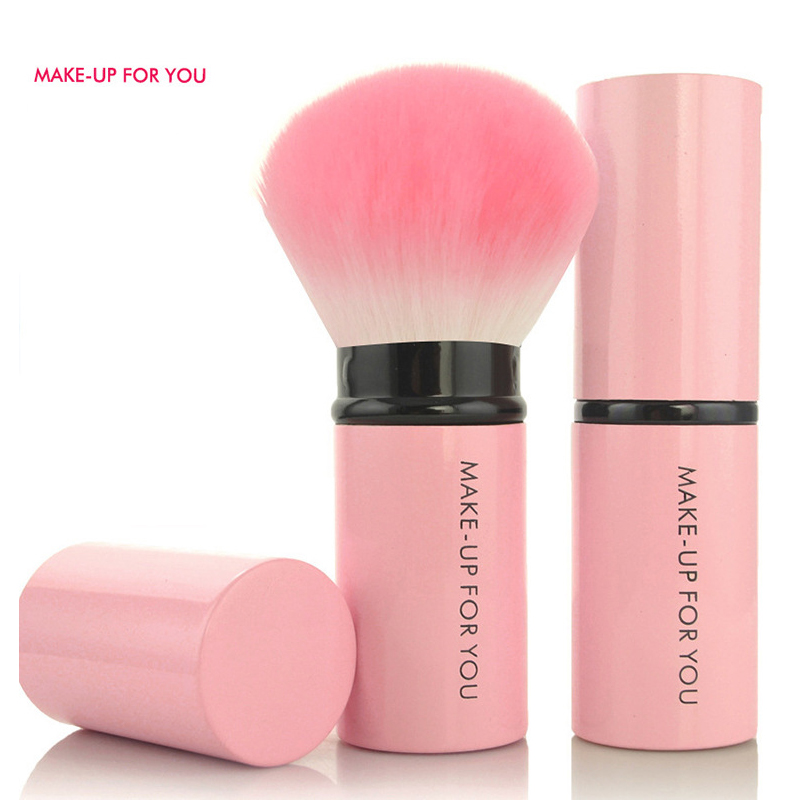 MAKE UP FOR YOU Retractable Blush Brush Makeup Brush Makeup Appliances Beauty Tools mistura beauty solutions retractable brush 1 ounce