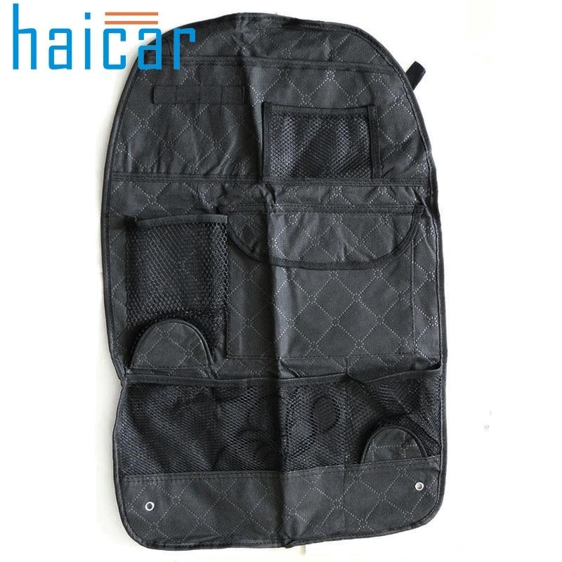 organizer Car Seat Cover Storage Bag Pouch For Children Kick Mat Mud Organizer U6624 DROP SHIP