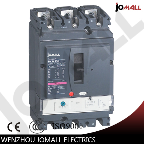 250A 3P NSX new type mccb Moulded Case Circuit breaker 400a 4p nsx new type mccb moulded case circuit breaker