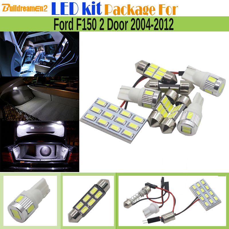 ヾ(^▽^)ノBuildreamen2 coche LED kit Paquetes 5630 interior ...