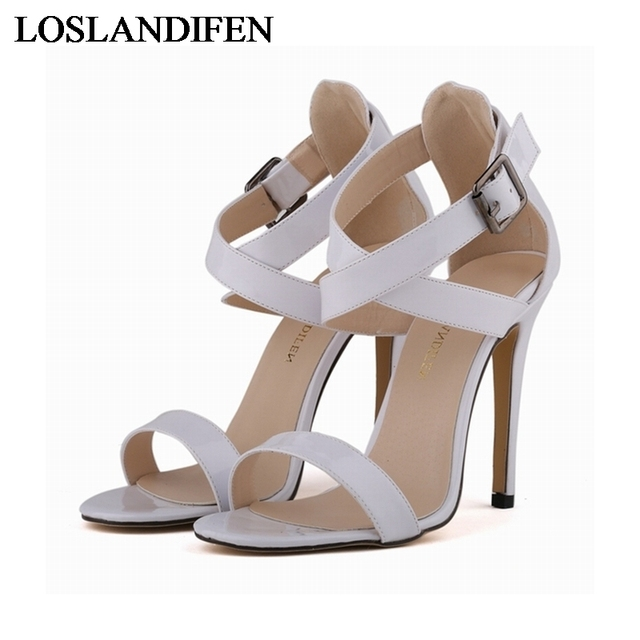1659b96bc 2018 Woman Designer Sandals Summer Women Shoes Fashion Sandal Big Size  35-42 Factory Price