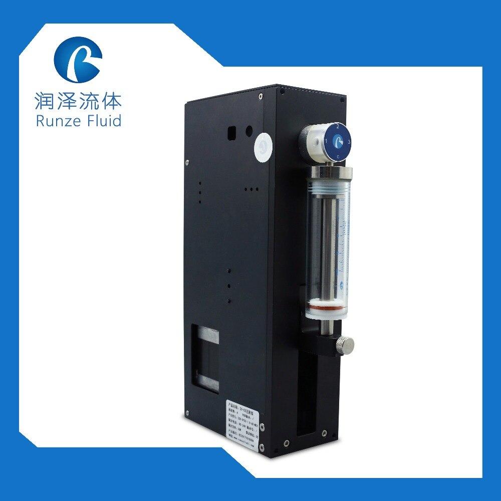 Performance de coût élevé de pompe électrique de seringue d'injection Micro liquide