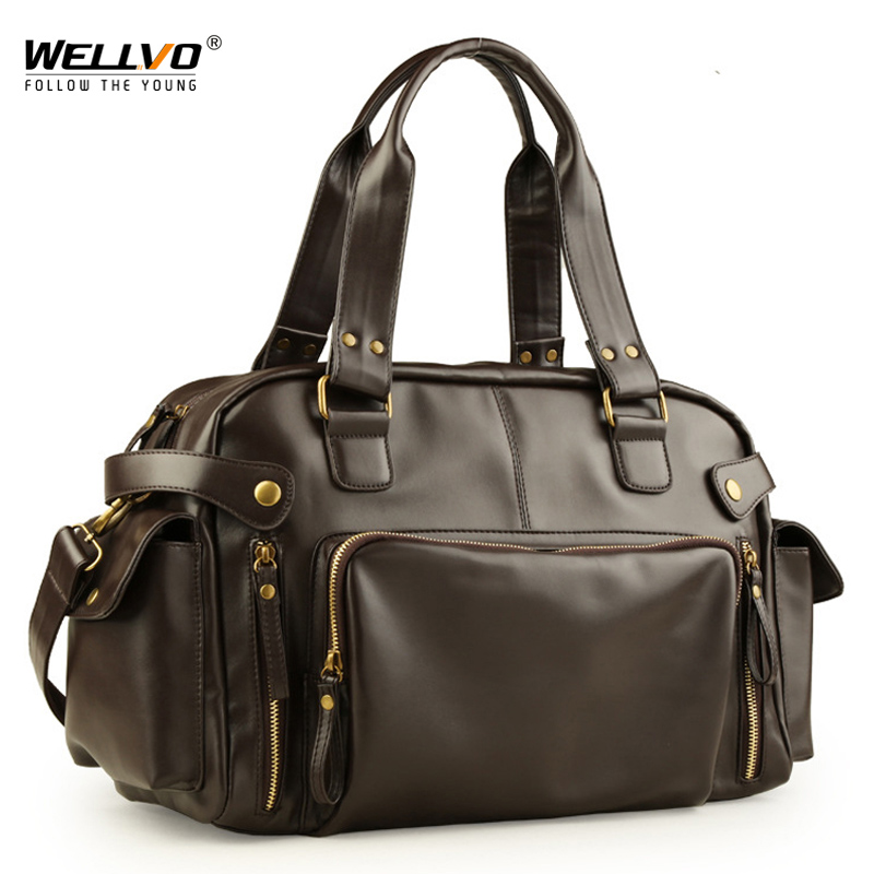 Male Bag England Retro Handbag Shoulder Bag Leather Men Big Messenger Bags Brand High Quality Men's Travel Crossbody Bag XA158ZC-in Travel Bags from Luggage & Bags on AliExpress - 11.11_Double 11_Singles' Day 1