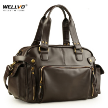 Male Bag England Retro Handbag Shoulder Bag Leather Men Big Messenger Bags Brand High Quality Men's Travel Crossbody Bag XA158ZC