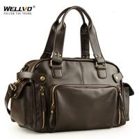 Male Bag England Retro Handbag Shoulder Bag Leather Men Big Messenger Bags Brand High Quality Men's Travel Crossbody Bag XA158ZC
