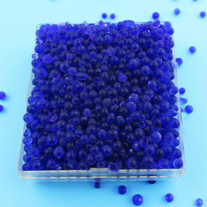 60g zila silīcija dioksīda žāvētāja kastīte atkārtoti lietojama silikagēla desikanta mitruma mitruma uzsūcēja silīcija gēls