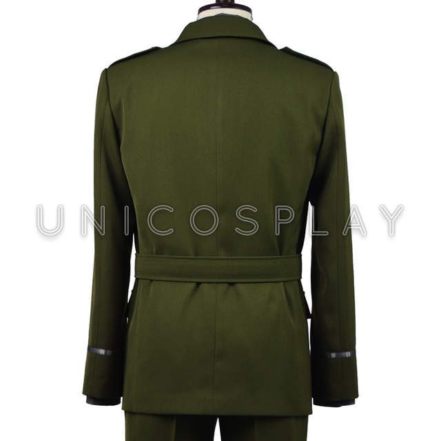 fda4f07410c US $109.0  Captain America Steve Rogers WWII Army SSR Uniform Cosplay  Costume for Man Adults Green Jacket grey shirt Tie Pants Full Set-in Movie  & TV ...