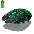 2016 New Fashion Wireless Mouse 2.4GHz Wireless 7D Rechargeable 2400DPI 6 Buttons Optical USB Gaming Mouse