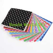 Telas Patchwork Tissu 30cm 2 Colors Square Heart Pattern Felt Fabric Diy Scrapbooking Craft Handmade Sewing Dolls Not Cloth