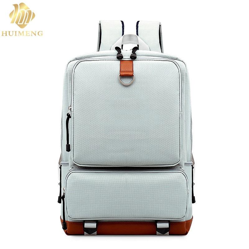 HUIMENG Brand Backpack Women Primar and Secondary School Bags for Teenage Girls Cute Rucksack Vintage Laptop Backpacks Female