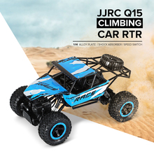 JJRC Q15 RC Car 2.4G 4WD Rock Crawlers 4×4 Driving Car 1:14 Remote Control Cars Model Off-Road Vehicle Toys For Children Gift
