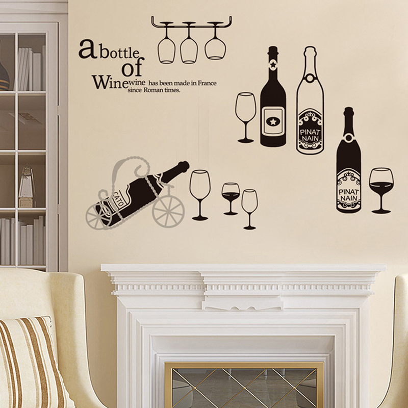 Top 10 Bottle Wine Sticker List And Get Free Shipping A666