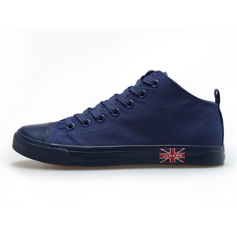 Noir High Appartements Top bleu blanc Vente Chaussures Zapatos Casual De Blanc Hommes Mujer Toile Homme Chaussure Mode rouge Chaude Noir Rouge Unisexe 1ppv8xwq4U