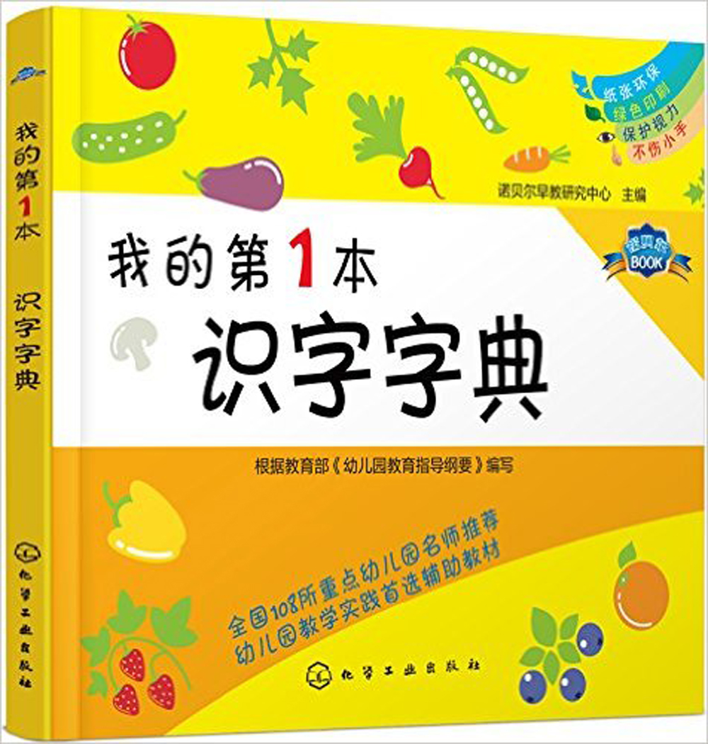 Learn To Read Literacy My First Word Dictionary Chinese Hanzi Character Book