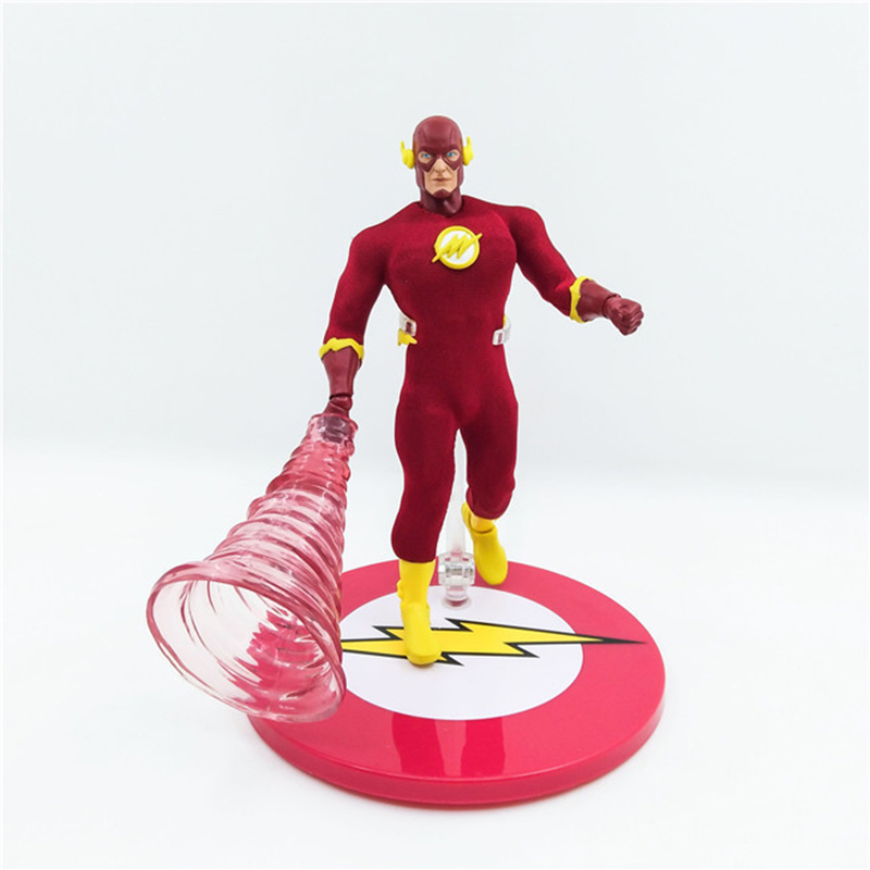 15CM Exquisite The Flash Man Action Figure Flash Comics Lover PVC Super Hero Collection Speed Force Speester Model Toy Gift N145 the flash man aciton figure toys flash man action figures collectible pvc model toy gift for children