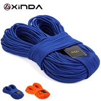 10M Lot Top Quality XINDA Professional Rock Climbing Downhill Rope 6mm Diameter High Strength Accessory Cord