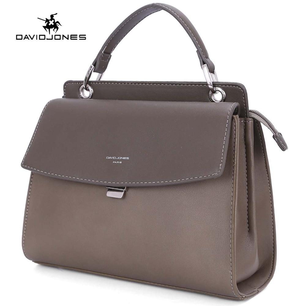 DAVIDJONES women handbag pu leather female messenger bags small lady patchwork crossbody bag girl shoulder bag drop shipping