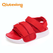 QIUTEXIONG Children Sandals Summer Kids Shoes For Girls Sandals Boys