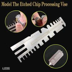 Хобби танки корабли фото-травления Запчасти складной ручной инструмент Давление Тип вспомогательный модель линейки травления чип обработ...