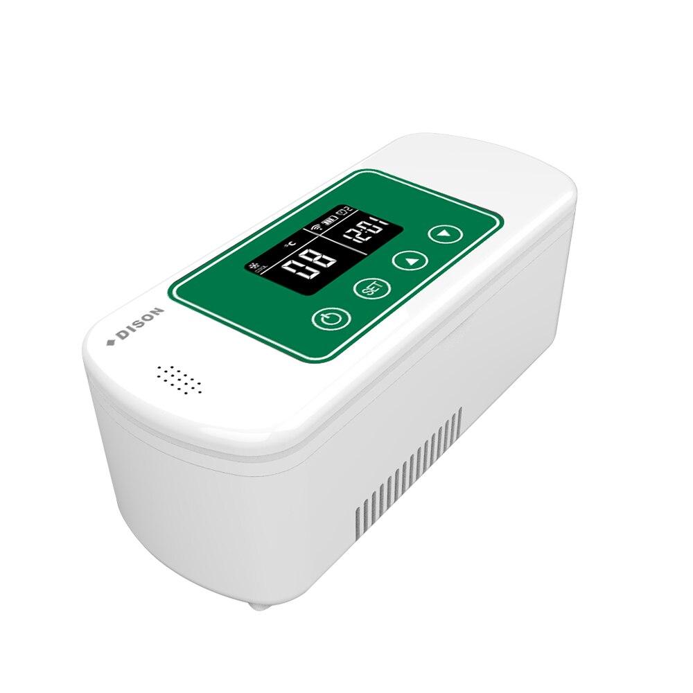 DISON 2019 New APP Insulin Refrigerator Battery Operated Portable Mini Fridge Insulin Cooler Box Diabetes Bag