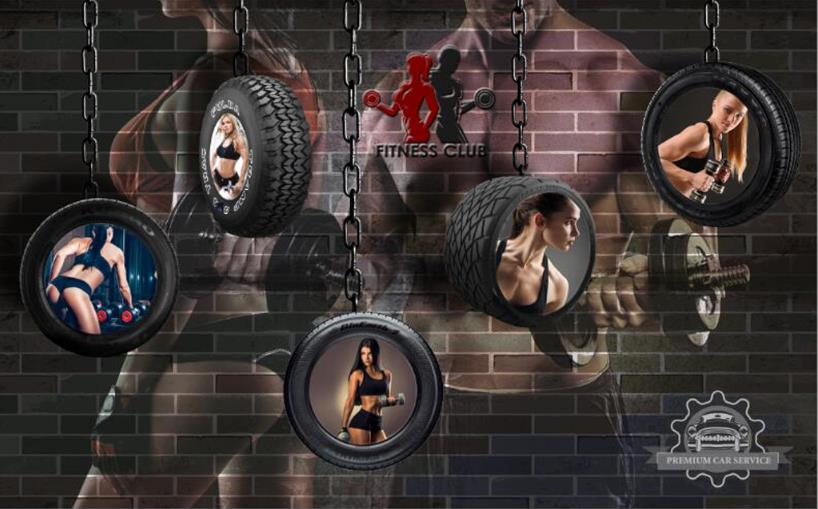 Top products 3d gym wallpaper in gym home