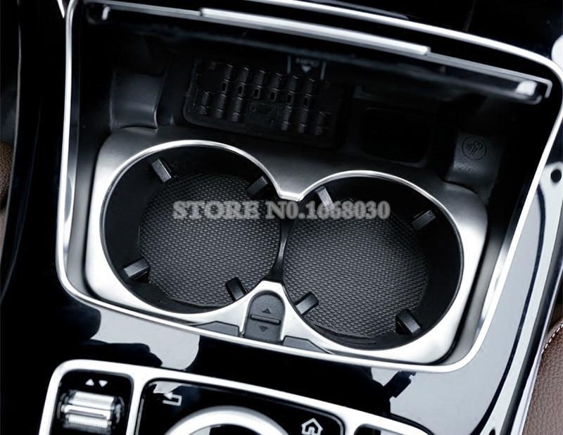 Mercedes Benz E Class W213 S213 2017-2018 üçün Daxili Konsol Su - Avtomobil daxili aksesuarları - Fotoqrafiya 5
