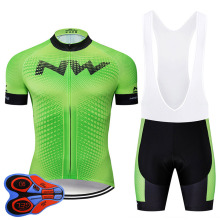 pro team green jerseys Cycling Jersey sets Ropa Ciclismo Sports Clothing 9D GEL Pad Bike Wear Mtb jersey