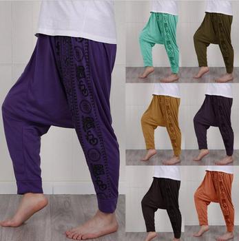 Mens Baggy Harem Pants Festival Hippie Boho Alibaba Harem Desert Trousers Men Casual Loose Pants Male Clothing 4XL 5XL