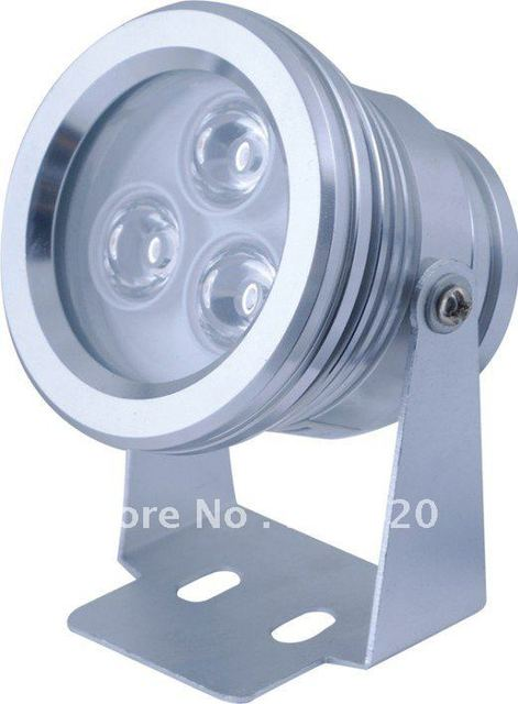 IP68-AC24V. RGB 3W  Stainless Steel LED Pool Light ,LED underwater light free shipping