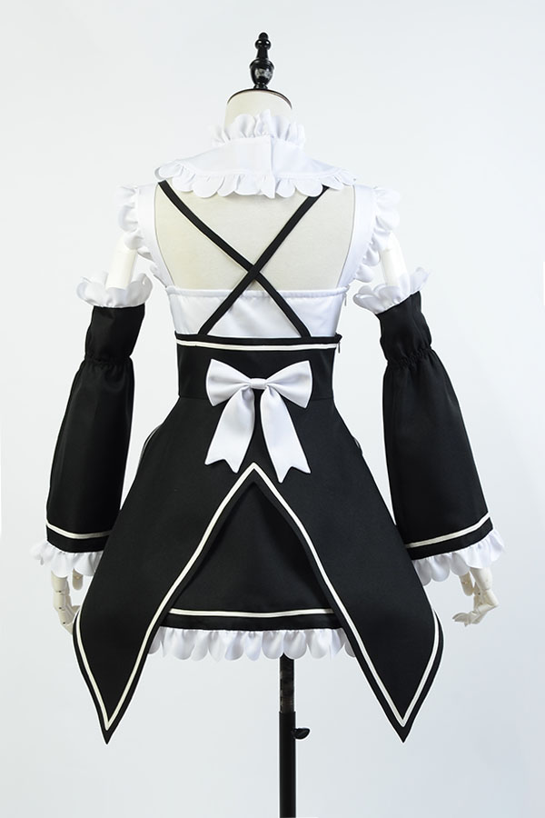 Anime Re:Zero Ram Cosplay Costume