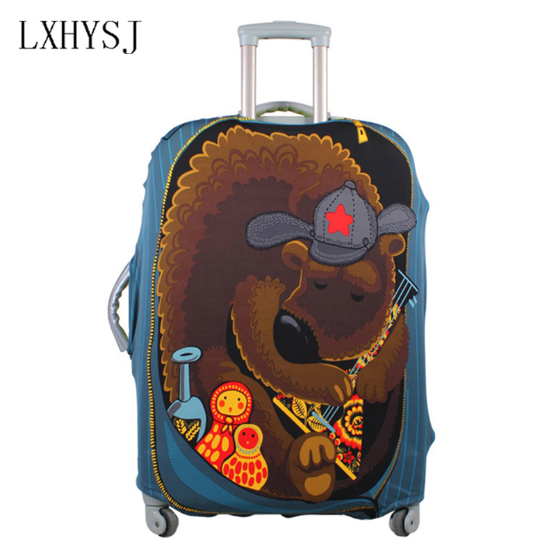 LXHYSJ Elasticity Luggage cover Luggage Protective Covers For18-30 inches Baggage Cover Suitcase Dust Cover Travel accessories