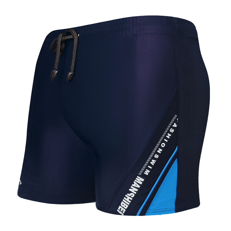 Summer Mens swimming trunks New arrival Beach swimming shorts Alphabet splicing plus size Obesity shorts A18139