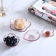 Cherry dish fruit bowls salad bowl Japan style glass dinnerwares dinner plates bandeja assiette prato serving tray placa