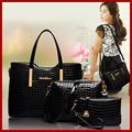 Designers Women's Famous Brands Women Bag OL Big Shoulder Bag Black Women Handbag Vintage Women Messenger Bags bolso mensajero