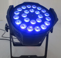 A- 2X High quality 24x18w rgbaw uv 6in1 led par stage light LED par can light exhibition spot light
