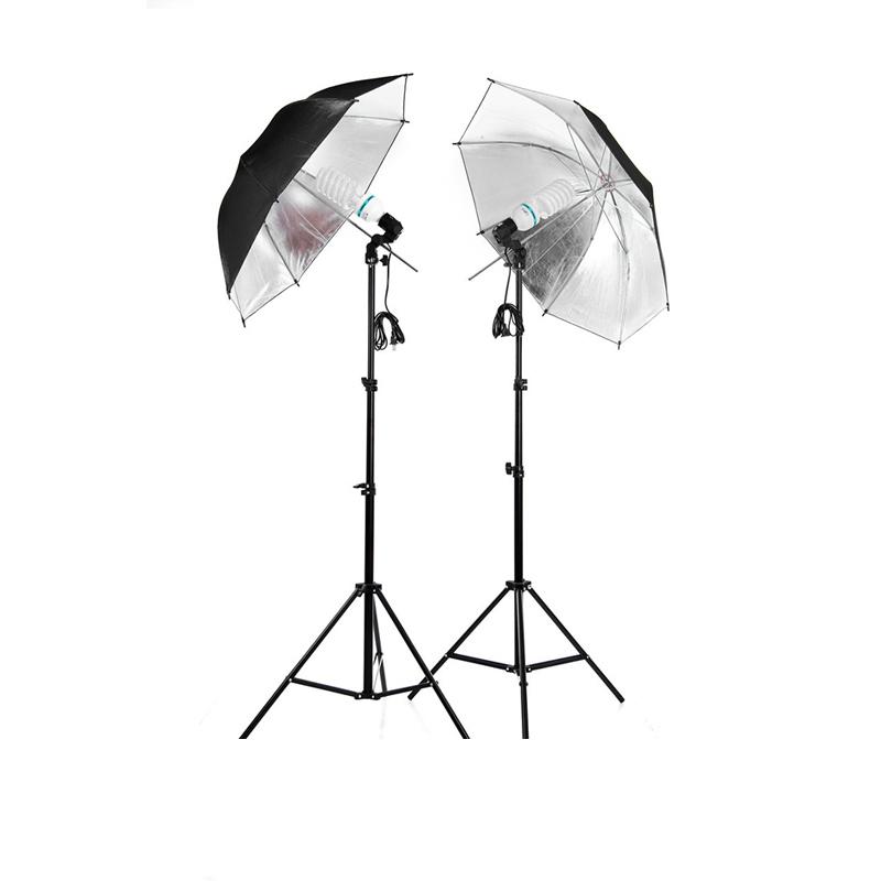 Prix pour Livraison Gratuite!!! Matériel photographique Vêtements Tirer Photography Ensemble 2 m Lumière Stand + Réflecteur Parapluie + Socket Adaptateur