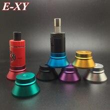 E-XY e cig clearomizer Metal Base E-cigarettes Holder Colorful E Cig Stand with 510 thread screw for ego 510 atomizer RDA 1