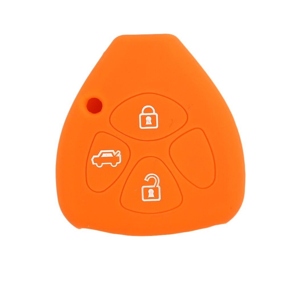 Vehemo силиконовый пульт дистанционного брелока держатель Автомобильный Чехол для пульта дистанционного управления замена силиконовый чехол для ключей мягкий чехол для Toyota