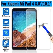 Высококачественное закаленное стекло 9H HD для Xiaomi Mi Pad4 8,0/4 Plus 10,1, Защита экрана для Xiaomi Mi Pad 4 Plus, стеклянная пленка