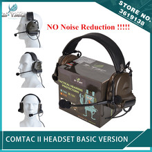 New Z-Tactical Softair Comtac II Peltor Headset No Noise Reduction Function Communication Comtac 2 Headphone Airsoft цена 2017