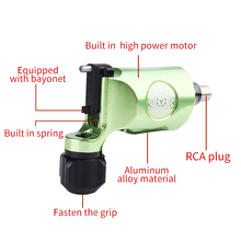 Rotary Tattoo Machine Swiss Motor Liner Shader Supply Best Rotary Tattoo Gun for Tattoo Artist RCA Connect Free Shipping цена