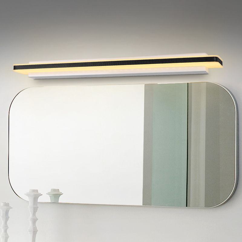 High Brightness Longer LED Mirror Light 0.4M~1.5M AC90-260V Modern Brief Cosmetic Crystal Wall lamp Bathroom Lighting Waterproof
