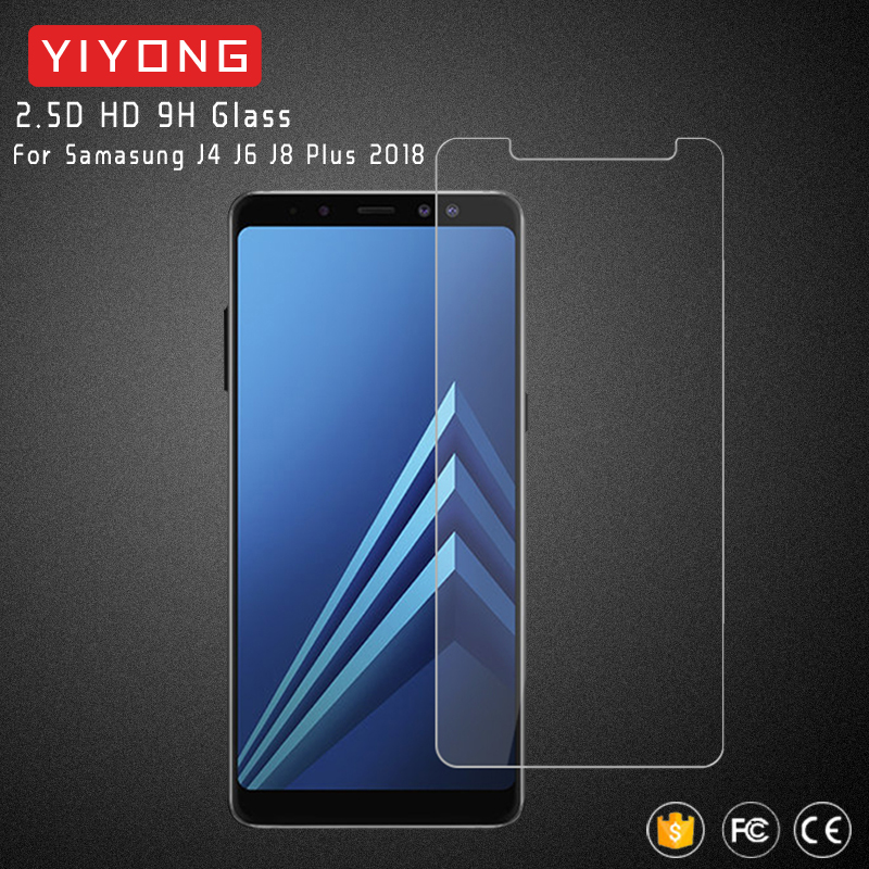 US $22 95 30% OFF|25pcs/lot YIYONG 2 5D Glass For Samsung Galaxy J8 J4 J6  2018 Tempered Glass Screen Protector For Samsung J8 2018 J4 Plus J6 Plus-in