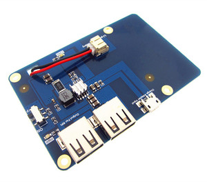 Image 2 - Lithium Battery Pack Expansion Board Power Supply with Switch for Raspberry Pi 3,2 Model B,1 Model B+