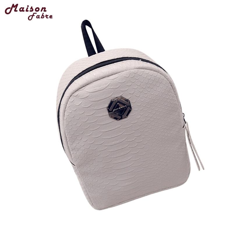New 2017 Women Fresh And Simple Mini Backpack Women Back Pack Backpacks Teenage Girls drop shipping