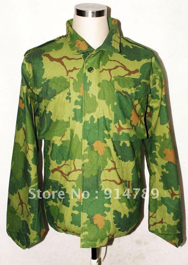 Вьетнамская война США Митчелл Camo M65 Полевая куртка в размерах 31724