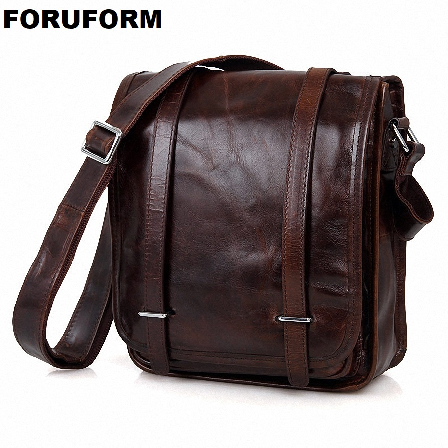 Genuine Leather Men Bags Hot Sale Male Small Messenger Bag Man Fashion Crossbody Shoulder Bag Men's Travel New Bags LI-1763 genuine leather men bags hot sale male small messenger bag man fashion crossbody shoulder bag men s travel new bags li 1850